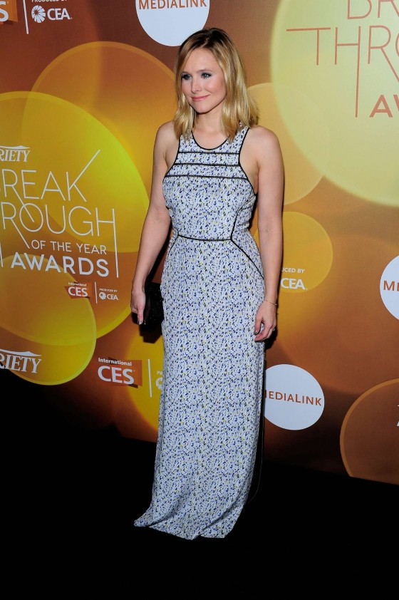 Kristen Bell: 2014 Variety Breakthrough of the Year Awards in Las Vegas -08