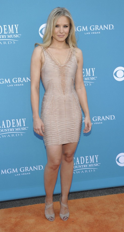 Kristen Bell At 45th Annual Academy Of Country Music Awards