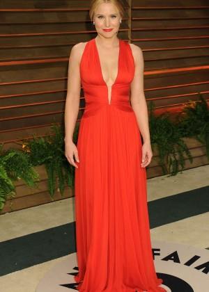 Kristen Bell: Oscar 2014 - Vanity Fair Party -01