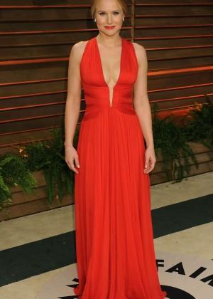 Kristen Bell: Oscar 2014 - Vanity Fair Party -02