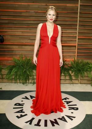 Kristen Bell: Oscar 2014 - Vanity Fair Party -04