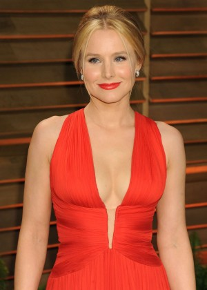 Kristen Bell: Oscar 2014 - Vanity Fair Party -05