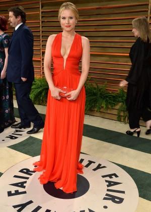 Kristen Bell: Oscar 2014 - Vanity Fair Party -06