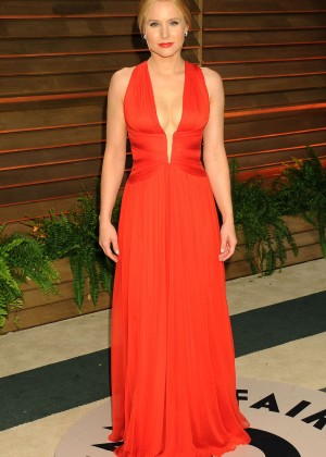 Kristen Bell: Oscar 2014 - Vanity Fair Party -07