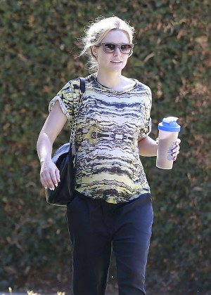 Kristen Bell out and about in LA