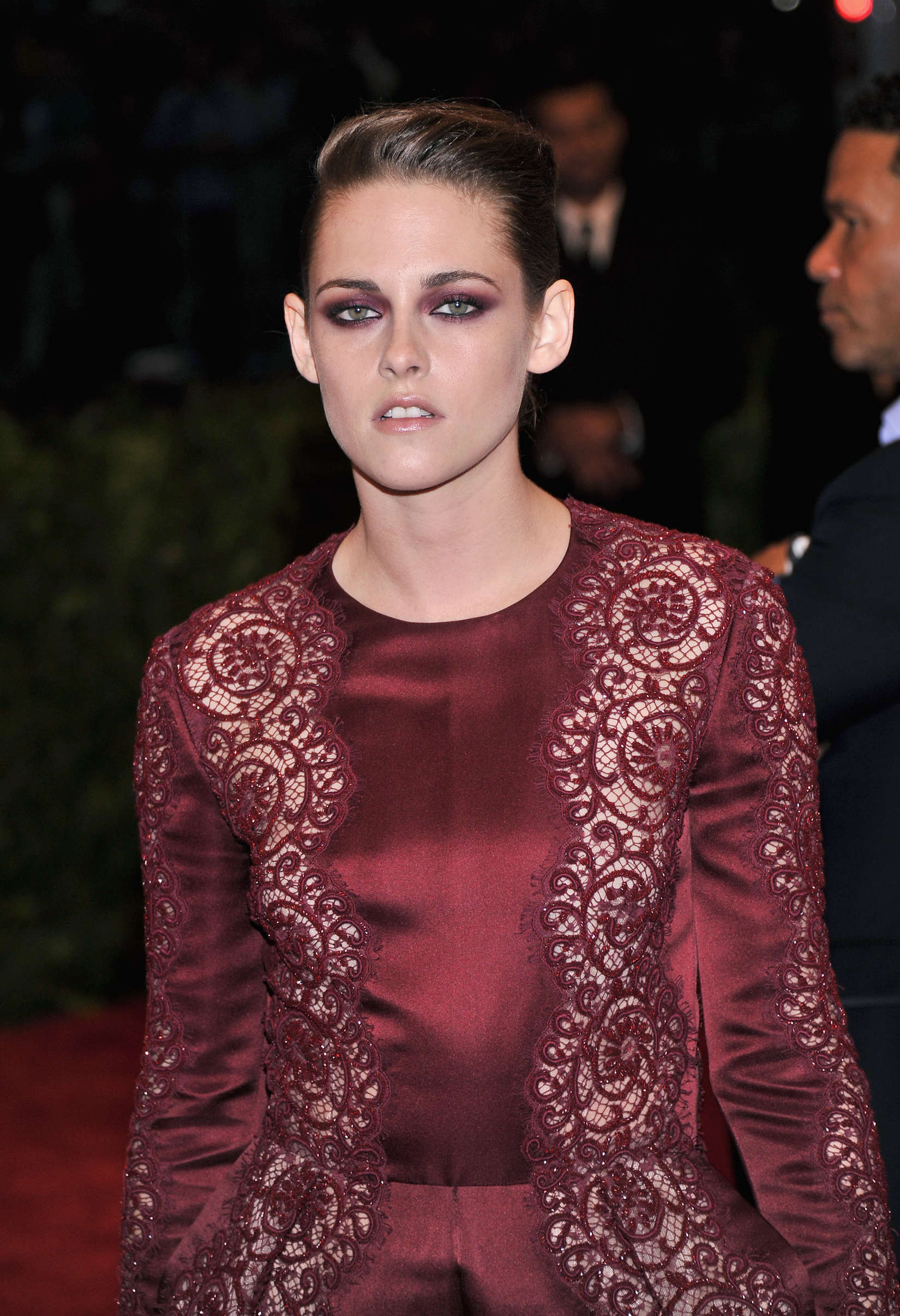 Kristen Stewart 2013 Met Gala At The Metropolitan Museum