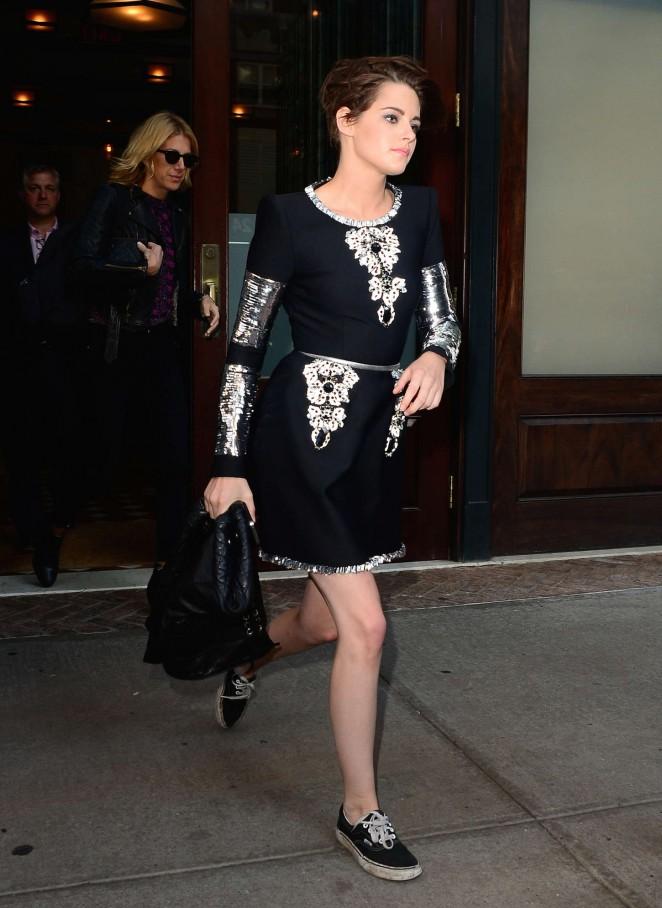Kristen Stewart at Premire Clouds of Sils Maria in NYC