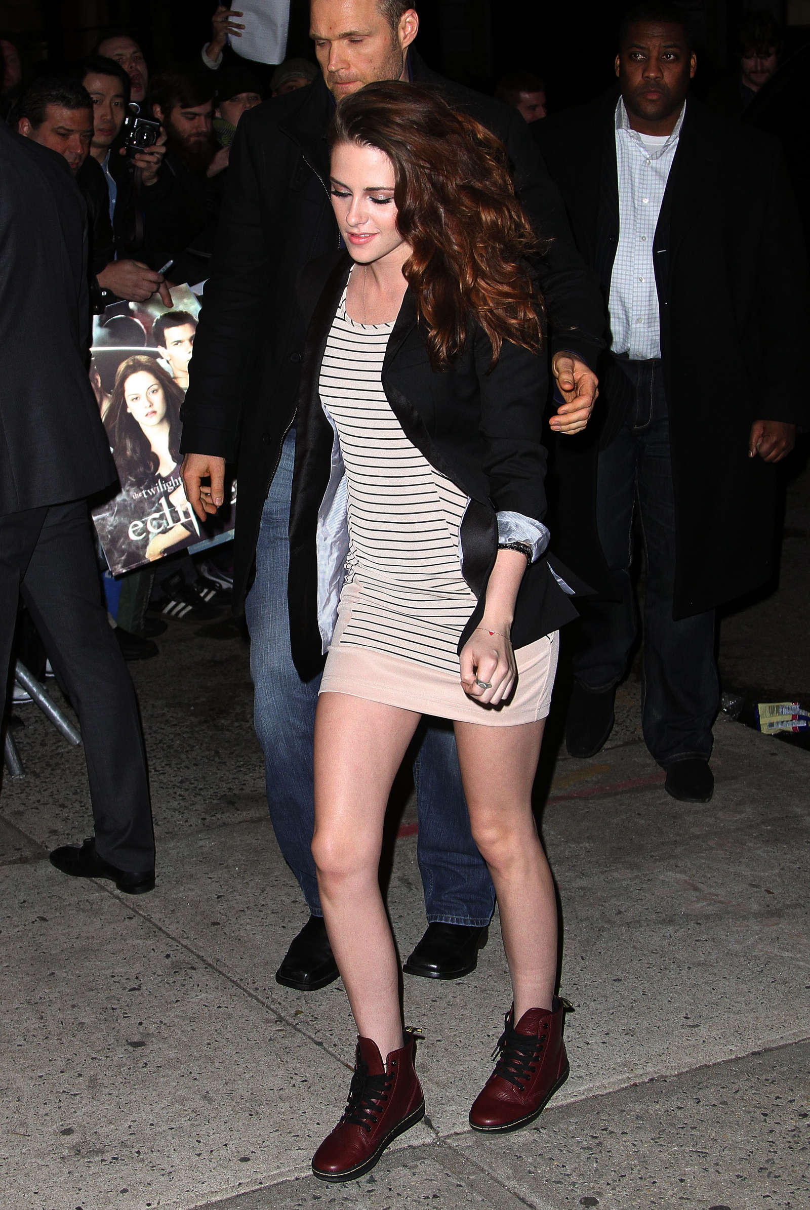 Kristen Stewart leggy in short dress -02 - GotCeleb