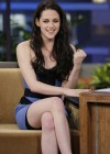 Kristen Stewart - Leggy Candids in Blue Dress-04