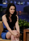 Kristen Stewart - Leggy Candids in Blue Dress-11