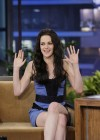 Kristen Stewart - Leggy Candids in Blue Dress-13