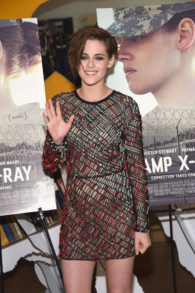 Kristen Stewart - Camp X-Ray Premiere in NY