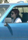 Kristen Stewart - Driving an old pick up truck in LA -06