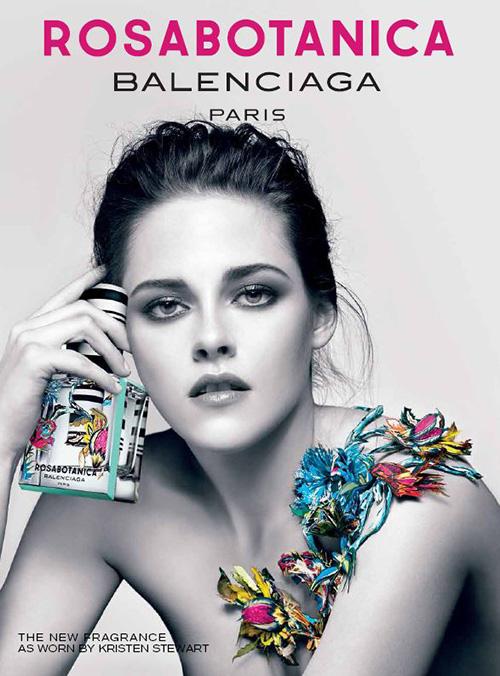 Kristen Stewart: Florabotanica Balenciaga Fragrance Promoshoot -02