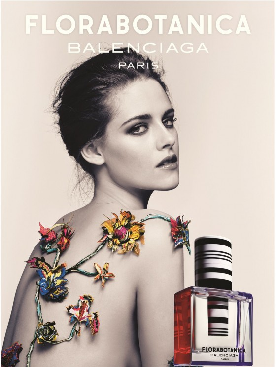 Kristen Stewart: Florabotanica Balenciaga Fragrance Promoshoot -03