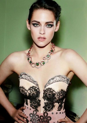 Kristen Stewart - Glamour Germany Magazine Cover (January 2015)