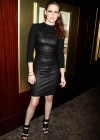 Kristen Stewart in Leather Dress at On The Road Premiere