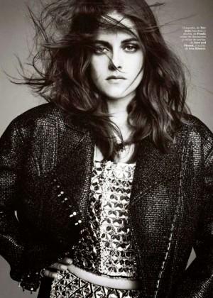 Kristen Stewart: Marie Claire Spain -01