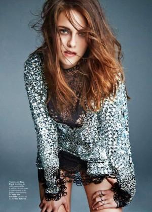 Kristen Stewart: Marie Claire Spain -02