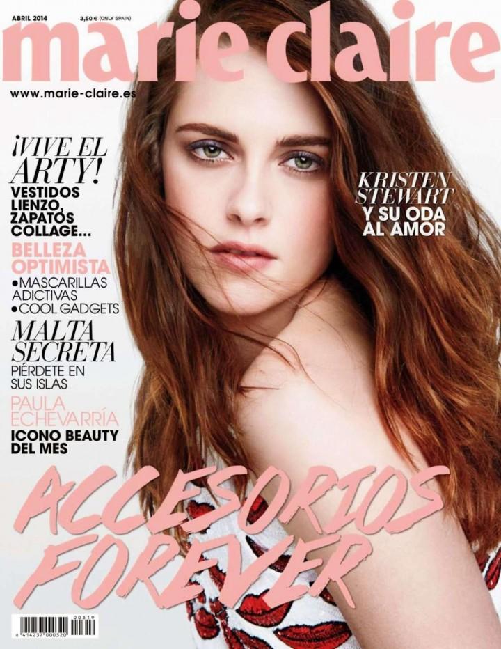Kristen Stewart: Marie Claire Spain -04