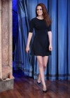 Kristen Stewart Leggy at Late Night with Jimmy Fallon