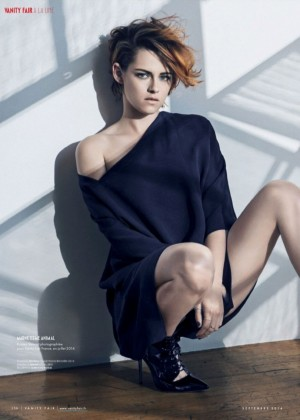 Kristen Stewart - Vanity Fair France Magazine (September 2014)