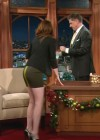 Kristen Stewart at The Late Late Show with Craig Ferguson in Los Angeles