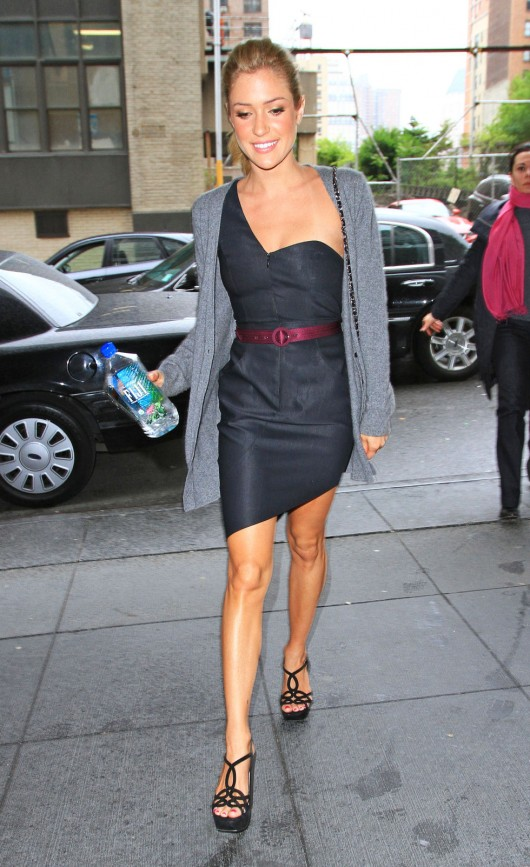 Kristin Cavallari  At an office building in NYC