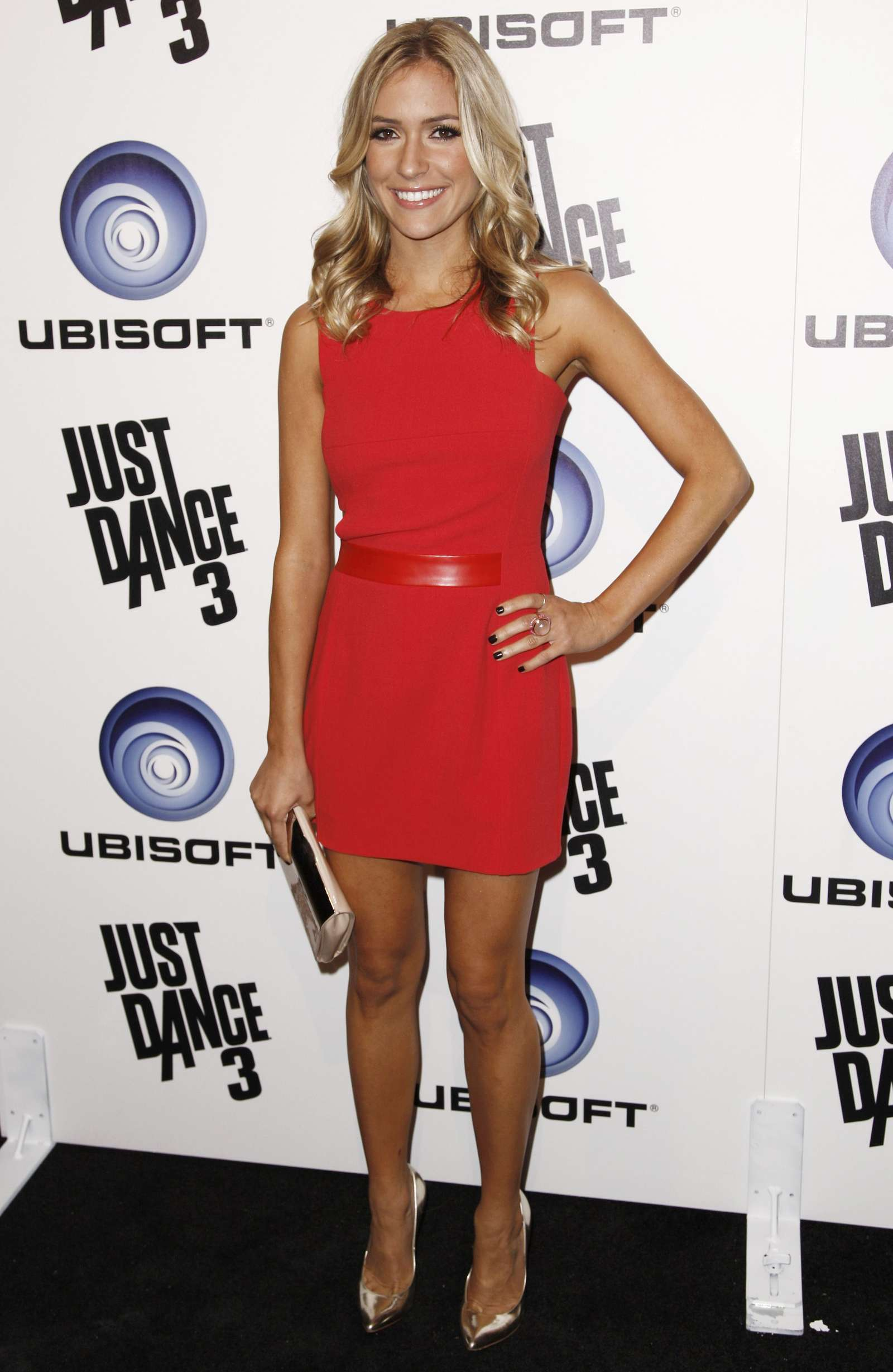 Kristin Cavallari 2011 : Kristin Cavallari Wear Red Dress At Just Dance Launch Party-04