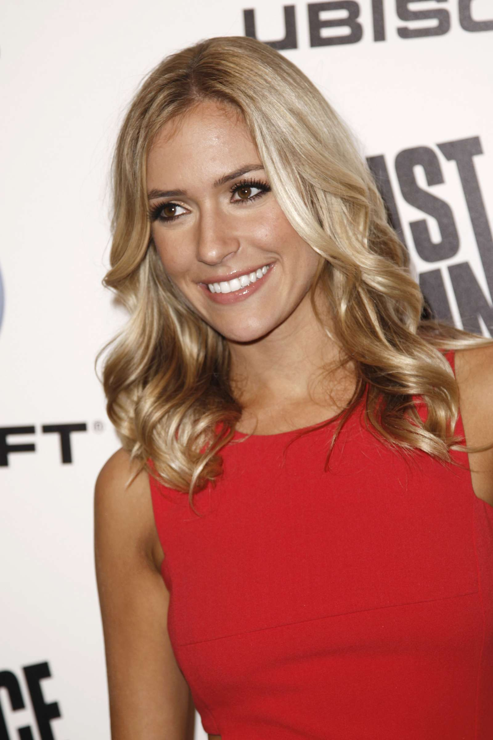 Kristin Cavallari Wear Red Dress At Just Dance Launch Party-05
