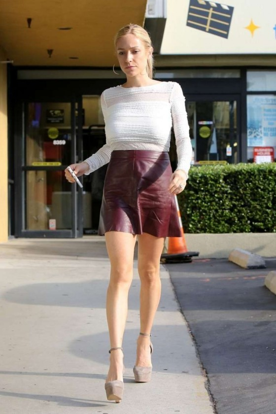 Kristin Cavallari - Leggy Candids in Hollywood