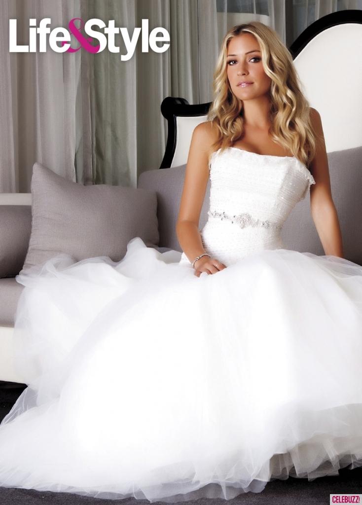Kristin Cavallari In Wedding Dresses For Life Style Magazine 01