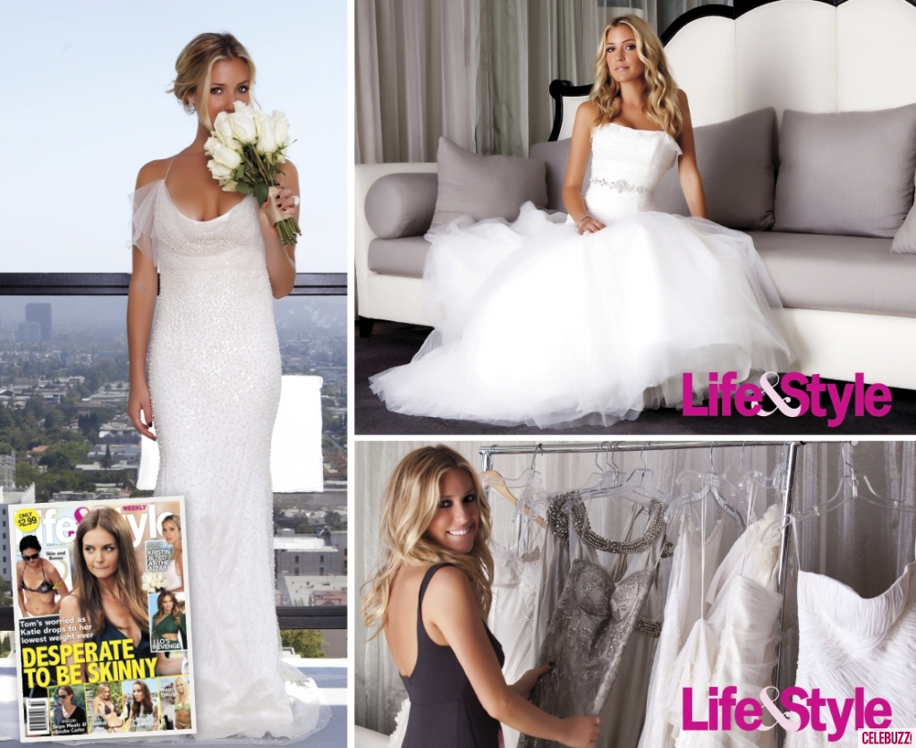Kristin Cavallari Wedding.Kristin Cavallari In Wedding Dresses For Life Style Magazine 02