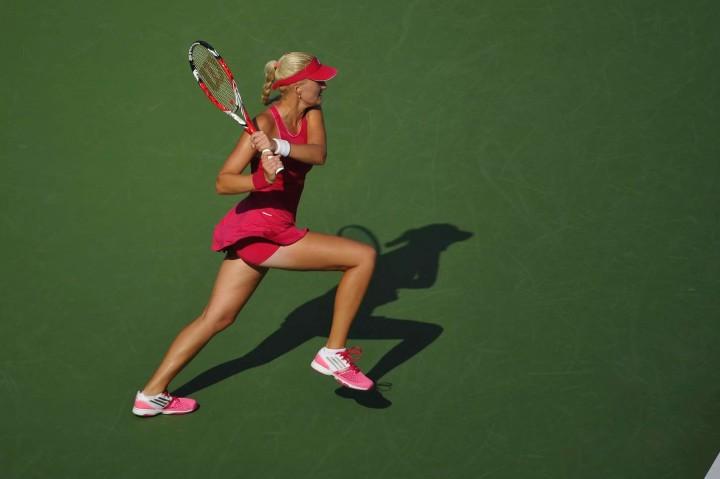 Kristina Mladenovic - US Open 2014 Tennis Tournament in New York