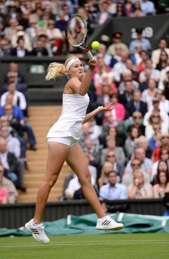 Kristina Mladenovic - Wimbledon 2013 Day 1 -04