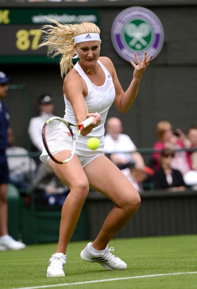 Kristina Mladenovic - Wimbledon 2013 Day 1 -12 - GotCeleb