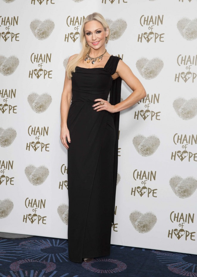 Kristina Rihanoff - Chain of Hope Gala Ball 2014 in London