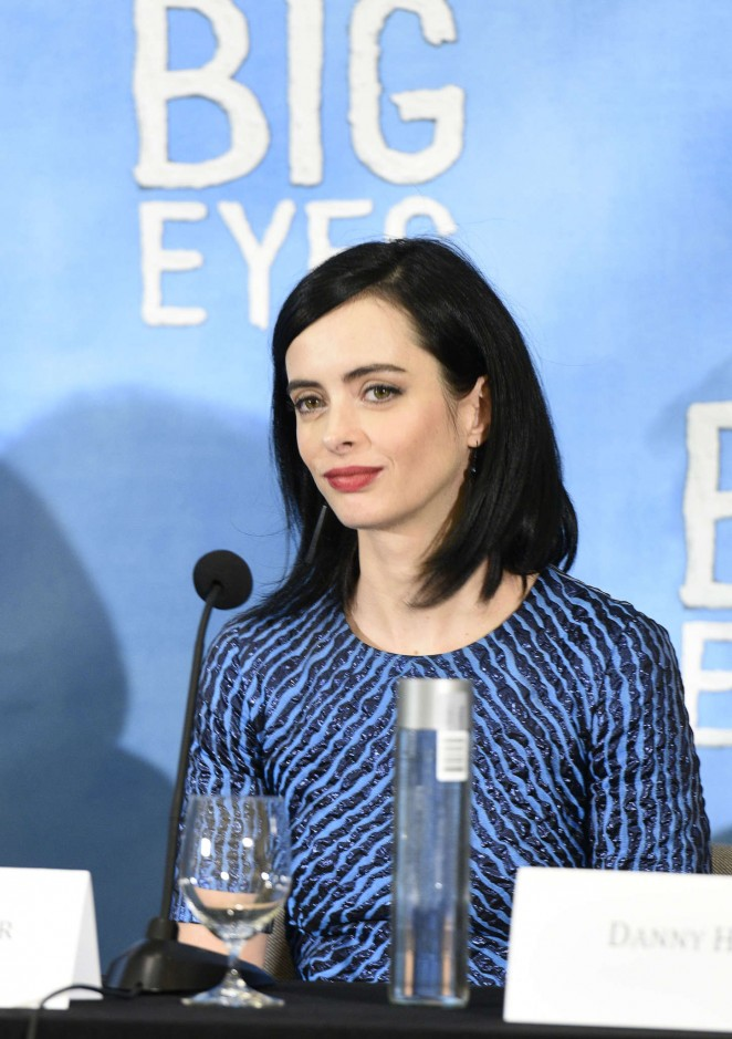 Krysten Ritter - 'Big Eyes' Press Conference in NYC