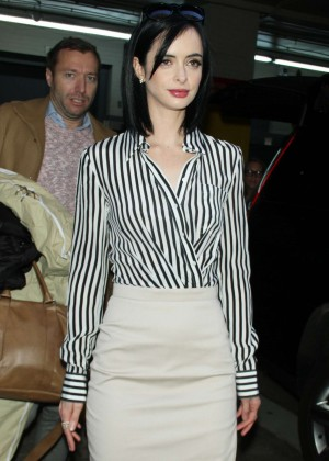 Krysten Ritter at 'HuffPost Live' in NYC