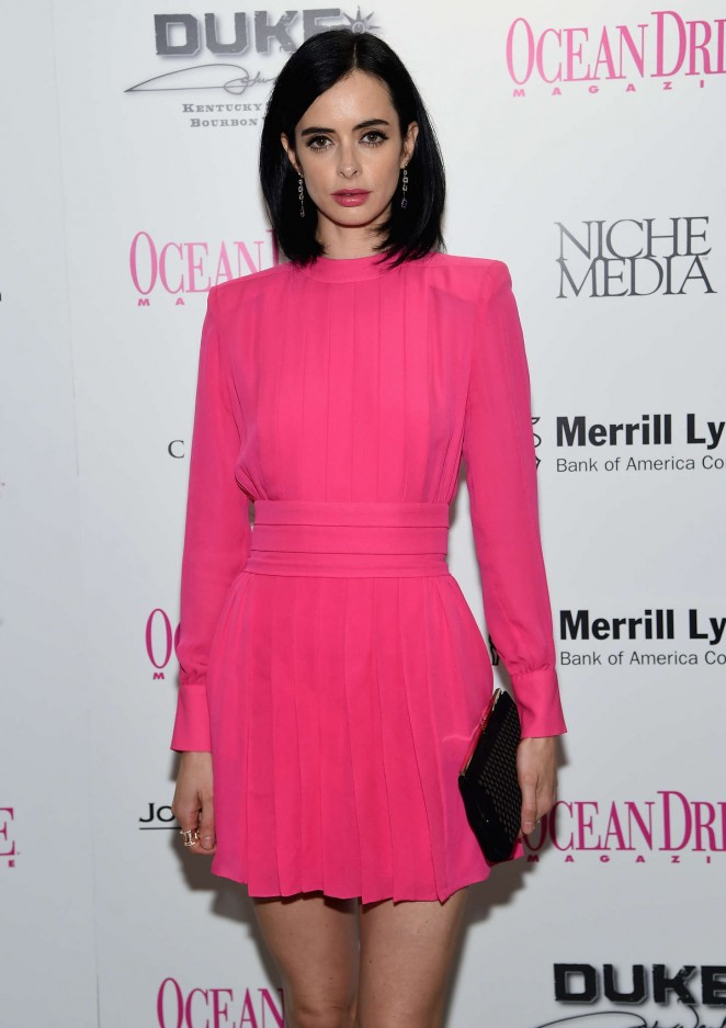 Krysten Ritter - Ocean Drive Magazine December Issue Launch in Miami Beach