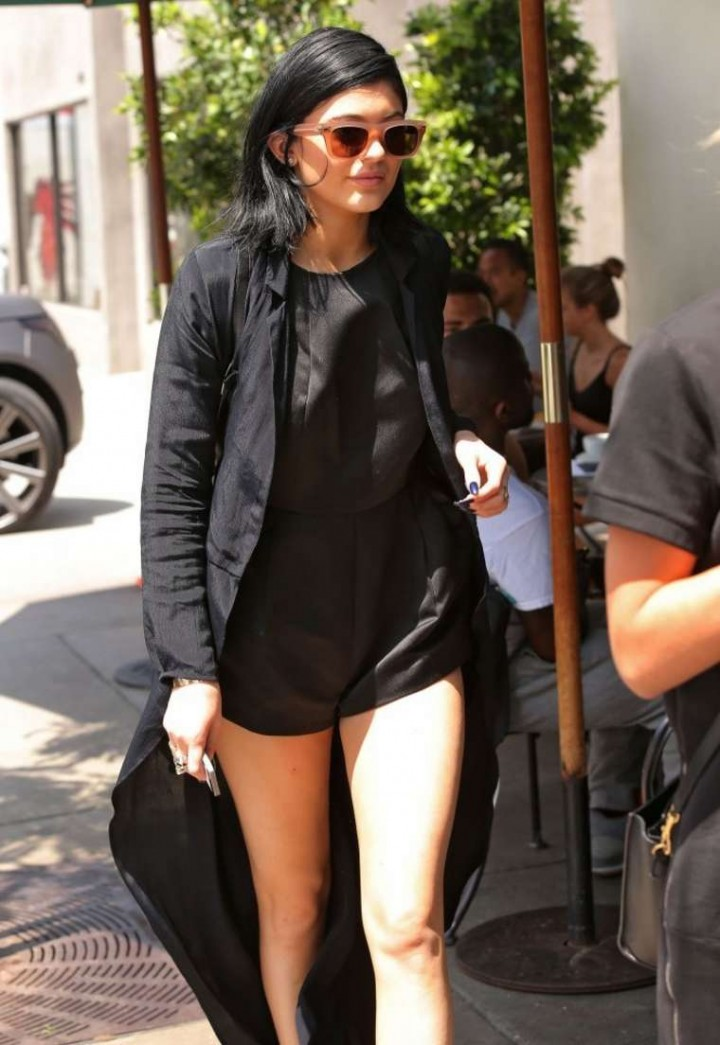 Kylie Jenner at Urth Caffe in West Hollywood