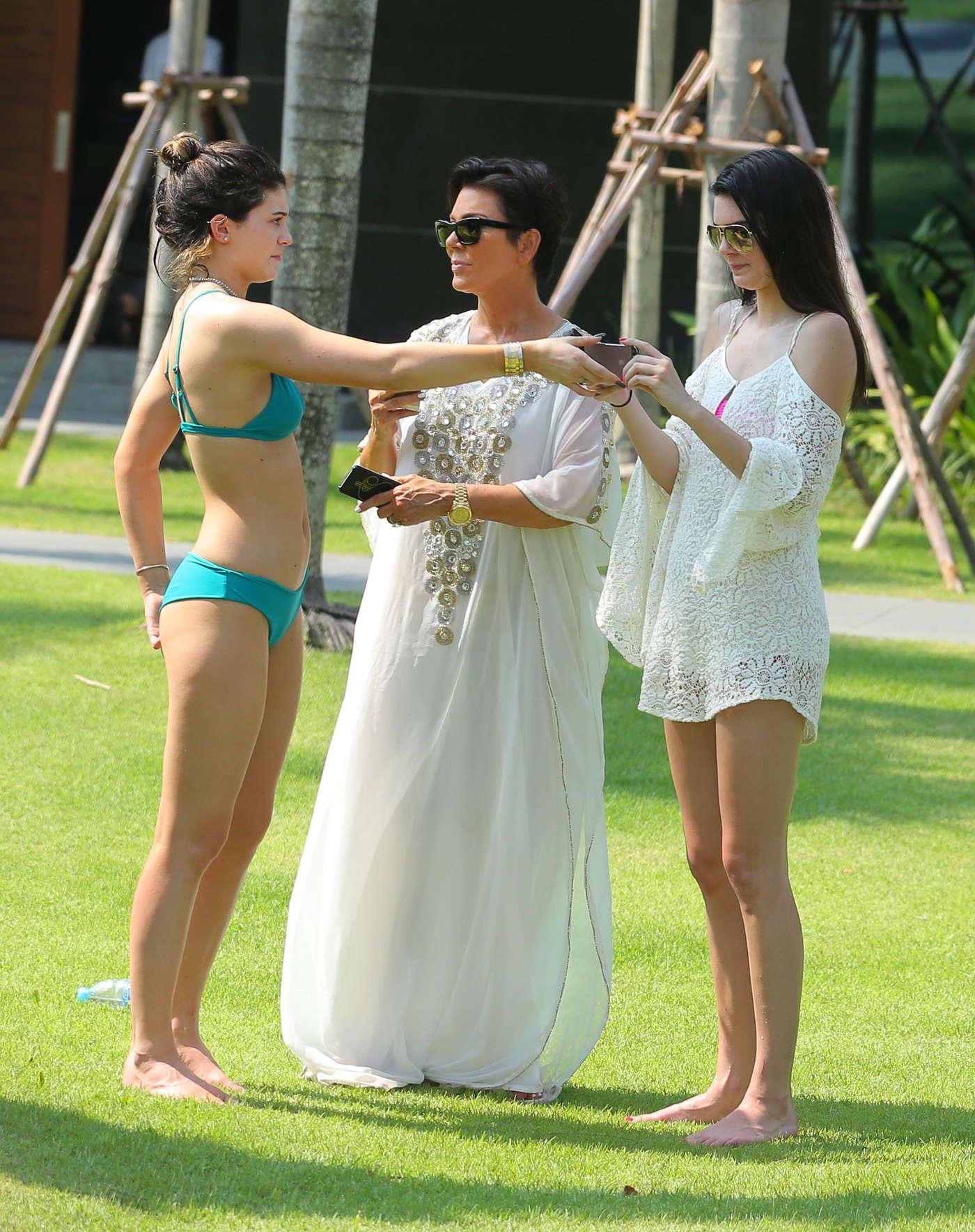 Kylie Jenner Bikini Photos: 2014 Thailand -01 | GotCeleb