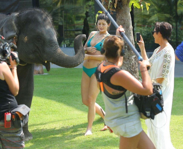 Kylie Jenner Bikini Photos: 2014 Thailand -06