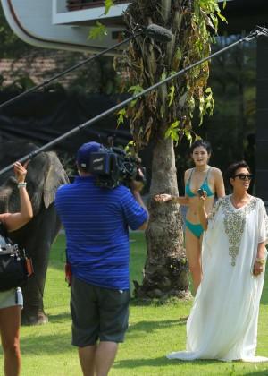 Kylie Jenner Bikini Photos: 2014 Thailand -11