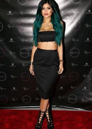 Kylie Jenner - Kylie Hair Kouture Launch in Beverly Hills