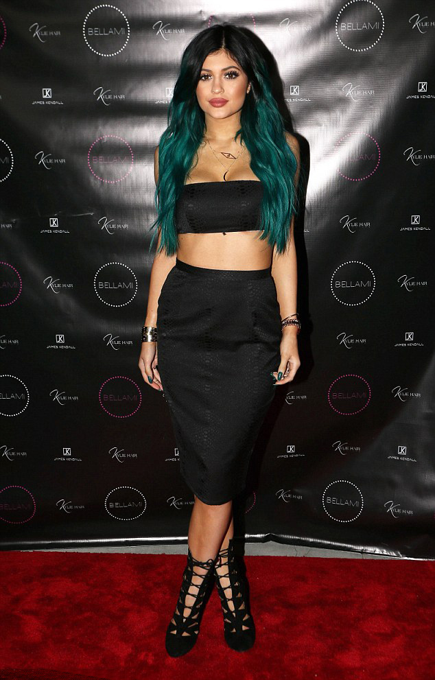 Kylie Jenner – Kylie Hair Kouture Launch in Beverly Hills