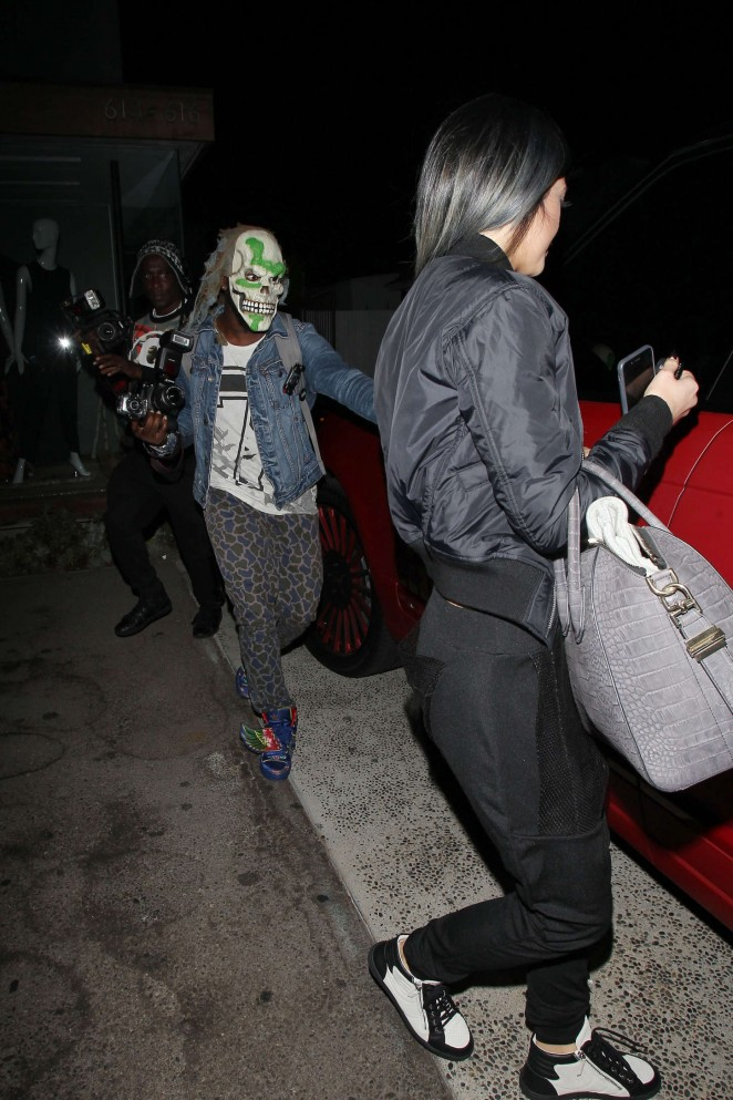 Kylie jenner leaving 901 salon 04 gotceleb for 901 salon west hollywood