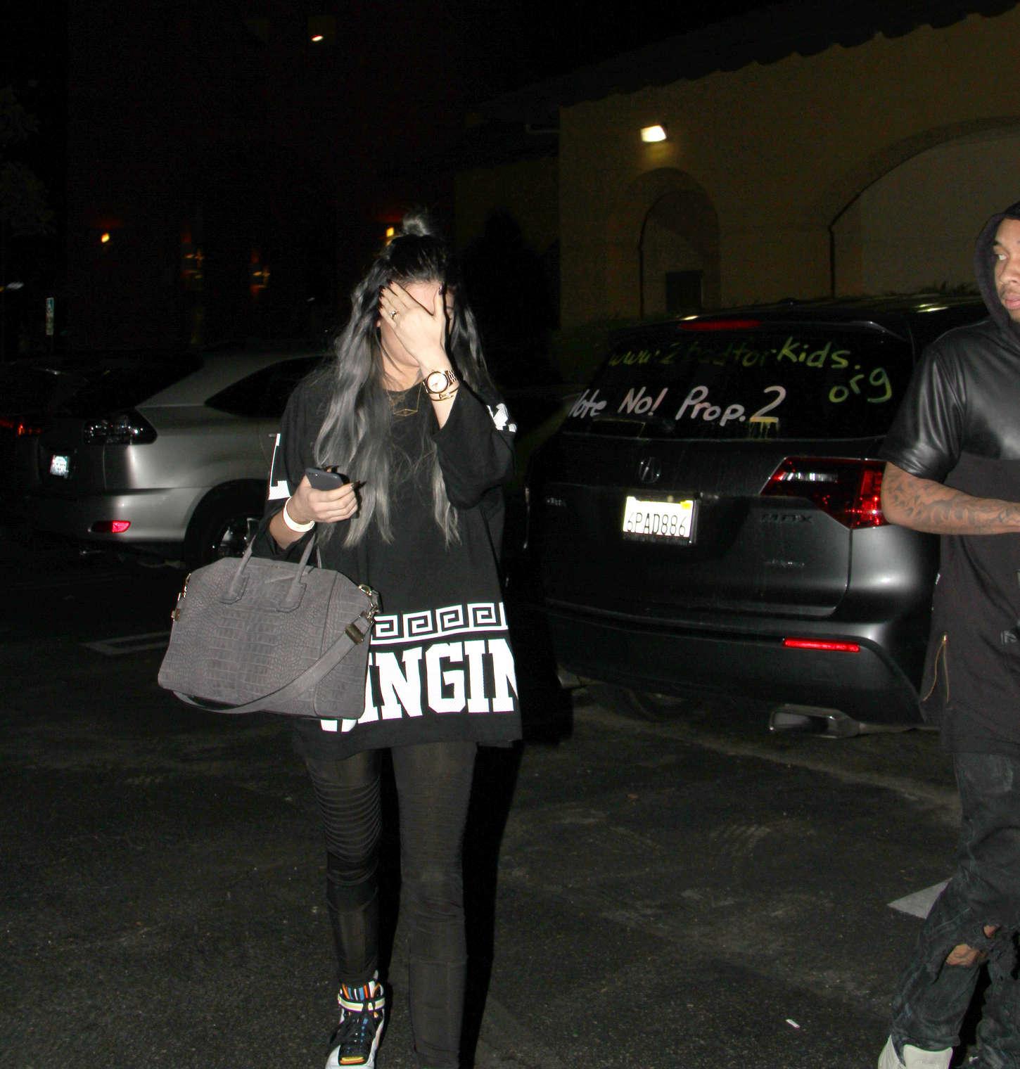 Kylie Jenner 2014 : Kylie Jenner in Spandex -03