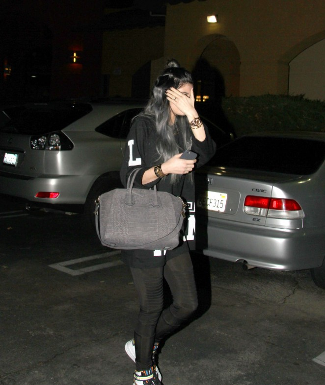 Kylie Jenner in Spandex -06