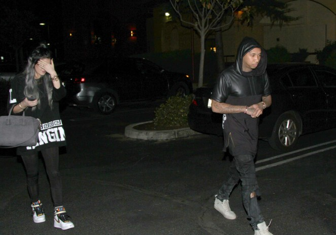 Kylie Jenner in Spandex -07